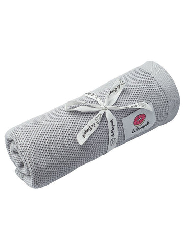 Antibacterial Bamboo Blanket with Silver - Grey