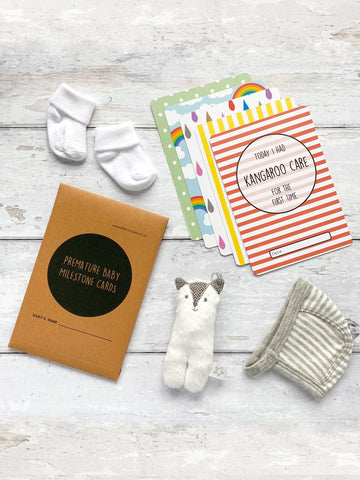 Premature Baby Milestone Cards - £2 Goes To Tommy's