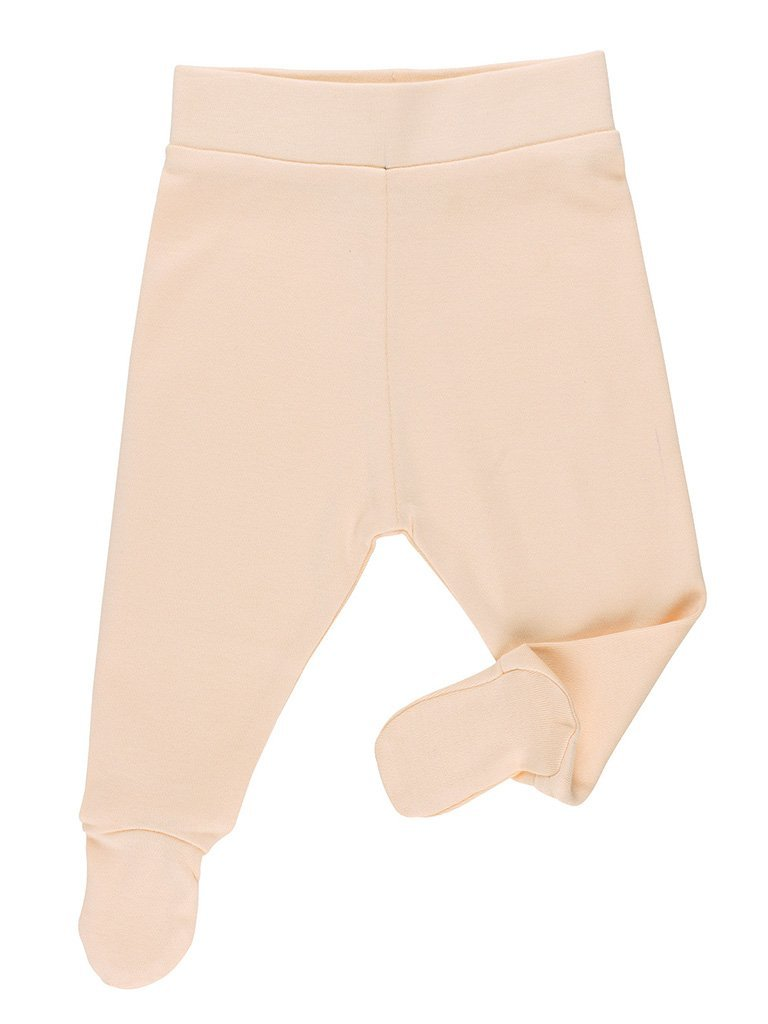 GOTS Certified Organic Nude Footed Trousers (Newborn 7-9lb & 0-3 months)