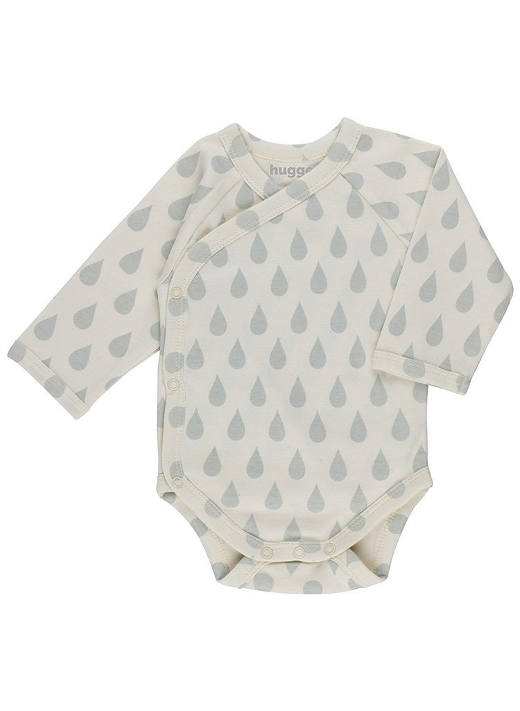 Big Drop Print Vest - Organic (Tiny Baby)