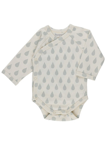 Big Drop Print Vest - Organic (Tiny Baby, 5-8lb)