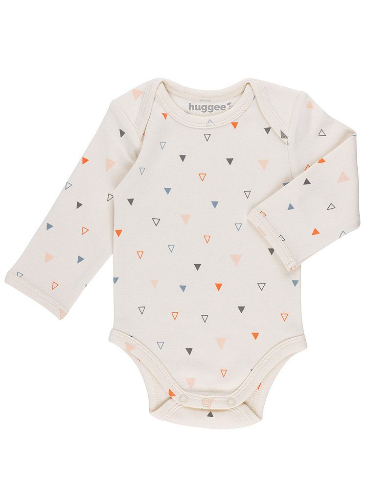 GOTS Certified Organic Cotton Triangle Print Vest (0-3 Months)