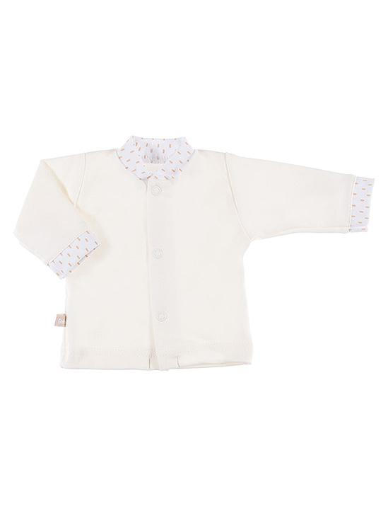 Early Baby Long Sleeved Top, Cream (3-5lb & 5-8lb)