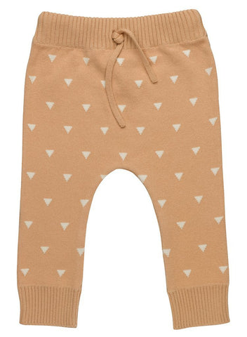 Triangles Knitted Trousers - Luxury, Organic (Tiny & 0-3 Months)