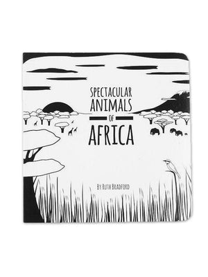 High Contrast Baby Book - African Animals