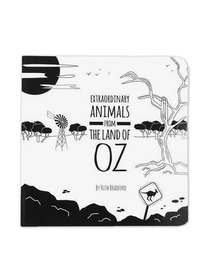 High Contrast Baby Book - Australian Animals