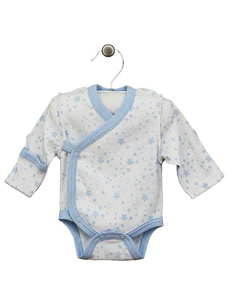 Blue Star Wrapover Long Sleeve Vest, 3-5lbs