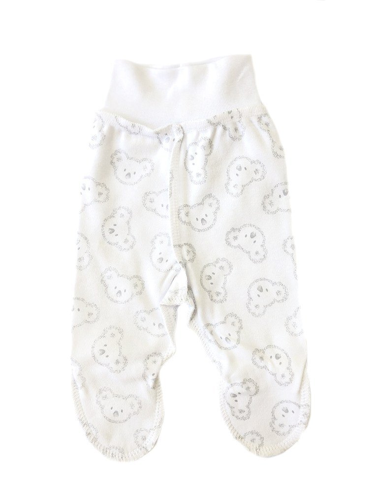 Happy Koala Print Footed Reversible Trousers (3-5lbs)