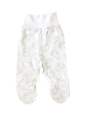 Happy Koala Print Footed Trousers (3-5lbs)