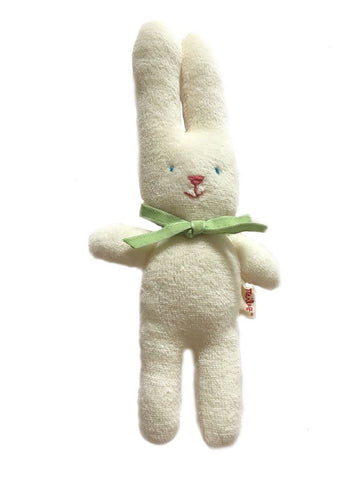 Maileg Bunny Rattle - Green ribbon