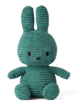 Miffy Corduroy Plush Toy - Teal