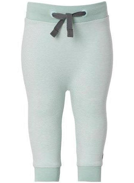 Soft Jersey Trousers - Mint Stripe (3 Sizes)