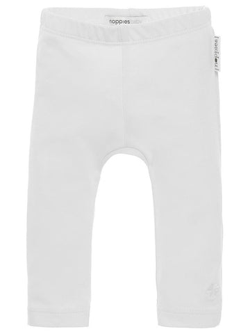 Organic Cotton Leggings - White (3-5 & 4-7lb)