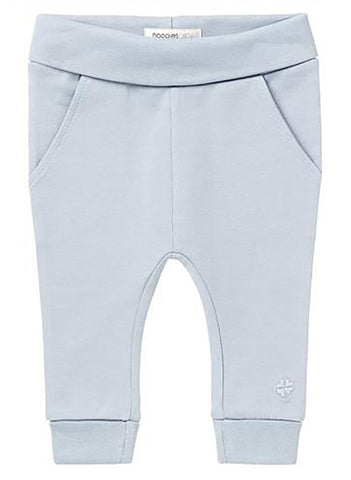 Soft Jersey Trousers - Blue Grey - trousers - Noppies - Little Mouse Baby Clothing & Gifts
