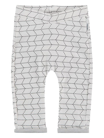 Organic Cotton Trousers - Geometric Print (4-7lb)