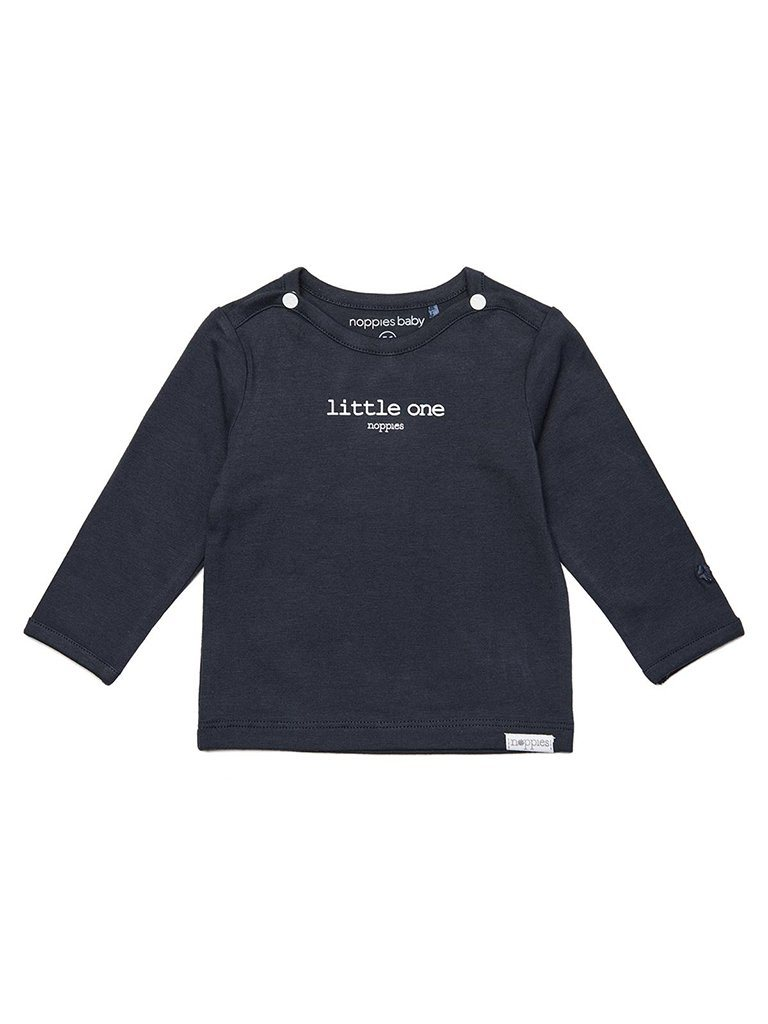 Navy 'Little One' Top - Organic (Tiny Baby Size, 4-7lb)