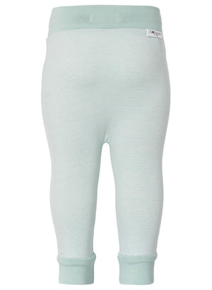 Soft Jersey Trousers - Mint Stripe - trousers - Noppies - Little Mouse Baby Clothing & Gifts
