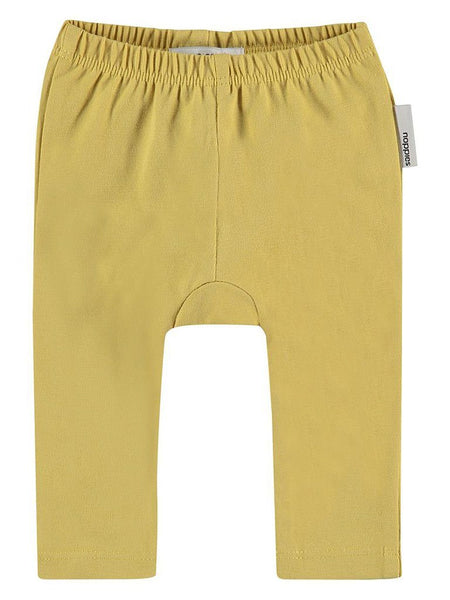 Organic Cotton Leggings - Mustard (Tiny & Early Baby)