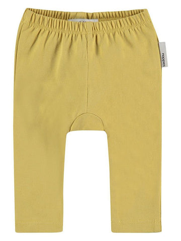 Organic Cotton Leggings - Mustard (Tiny Baby)