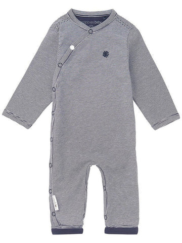 Sleepsuit - Navy Stripe Footless (Tiny Baby)