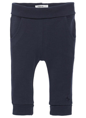 Soft Jersey Trousers - Navy - trousers - Noppies - Little Mouse Baby Clothing & Gifts