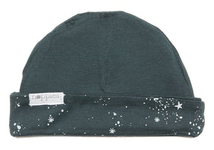 Night Sky Print - Reversible (Tiny Baby, 4-7lb) - Hat - Noppies