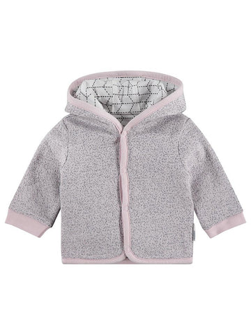 Organic Cotton Reversible Pink and Grey Jacket