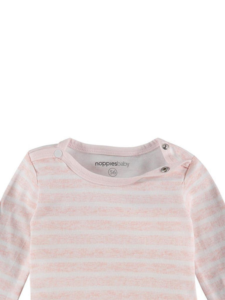 Pink & White Stripe Top, Organic (Tiny Baby)