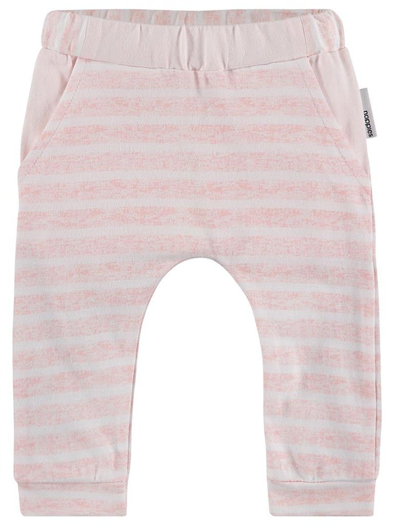 Pink and White Stripe Trousers - Organic Cotton  (Tiny Baby)