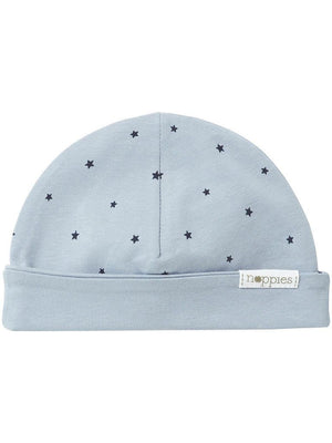 Blue Star Hat - Reversible (Tiny Baby, 4-7lb) - Hat - Noppies