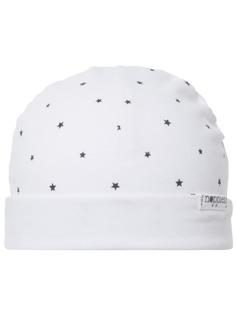 White Star Hat - Organic Cotton (Tiny Baby, 4-7lb)