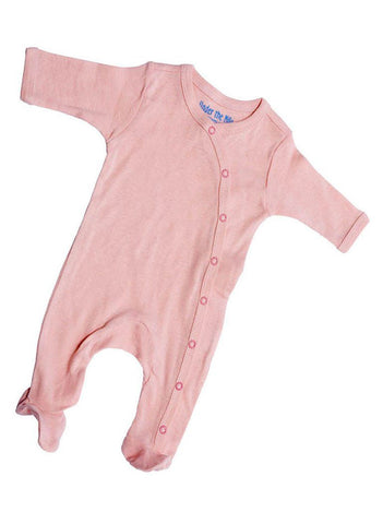 Organic and Fair trade Tiny Baby Baby grow - Pink - Babygrow - Under The Nile - Little Mouse Baby Clothing & Gifts