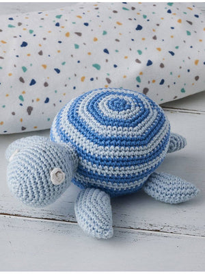 Crochet Turtle Rattle / Toy - Albetta Premium