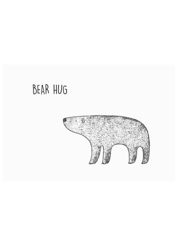 Bear Hug - The Cutest New Baby Card