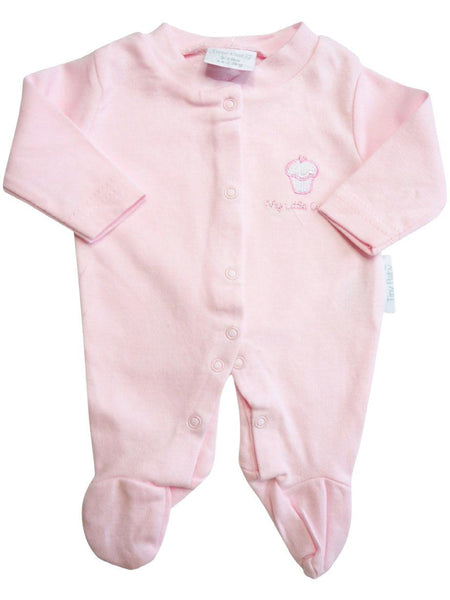 'My Little Cupcake' Sleepsuits, 2 Pack (3-5lb & 5-8lb)