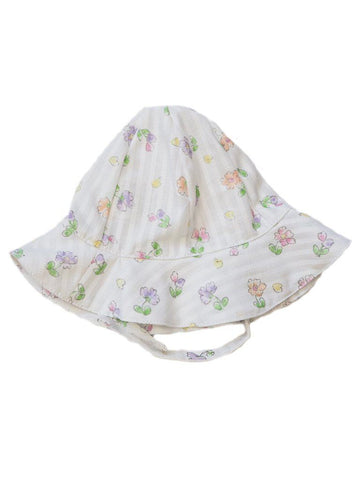 Tiny Baby Floral Summer Hat