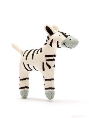 Organic Cotton Little Zebra Toy