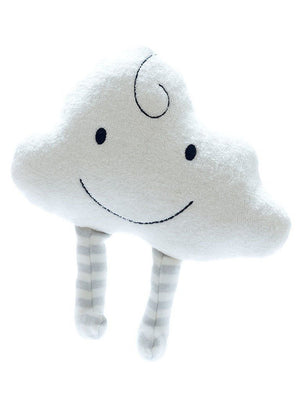 Organic Baby Toy -Soft Grey Cloud