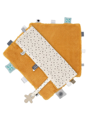 Sweet Dreaming Fluffy Comforter with tags - Mustard