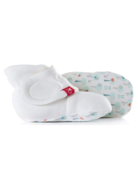 Stay-on Baby Boots, Aqua Forest (0-3 Months)