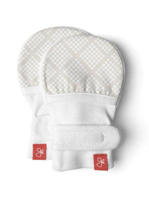 Stay On Anti-Scratch Mittens - Diamond Dots (0-3 Months) - Scratch Mitts - Goumikids