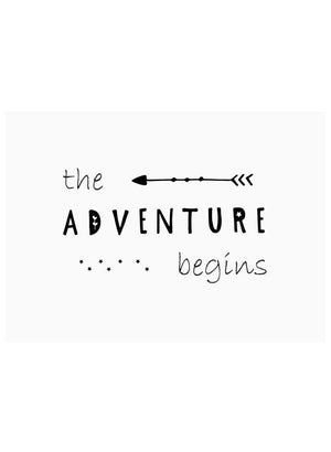 The Adventure Begins - New Baby Card - New baby card - Little Mouse Baby Clothing & Gifts