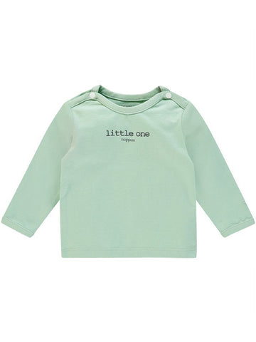 Mint 'Little One' Slogan Top - Tiny Baby Size (4-7lb)