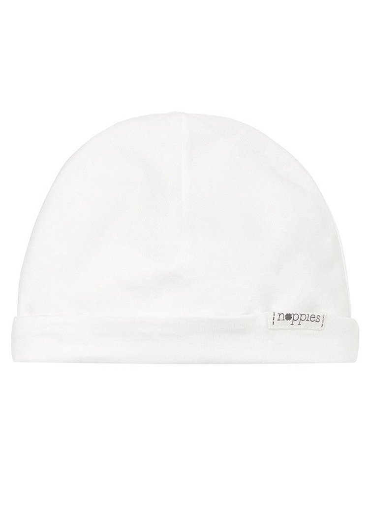 White Hat - Organic Cotton (Tiny Baby, 4lb-7lb)