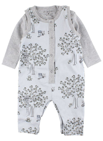 Gorgeous Soft Blue Tiny Baby Romper & Bodysuit (4lb-7lb)