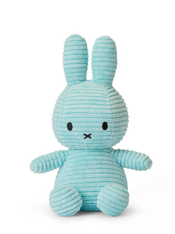 Miffy Corduroy Plush Toy - Turquoise