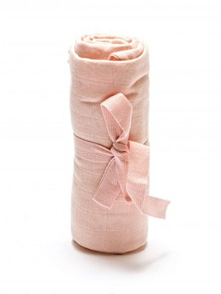 Fair Trade, Organic,  Muslin Swaddle Blanket - Pink - Muslin - Under The Nile - Little Mouse Baby Clothing & Gifts