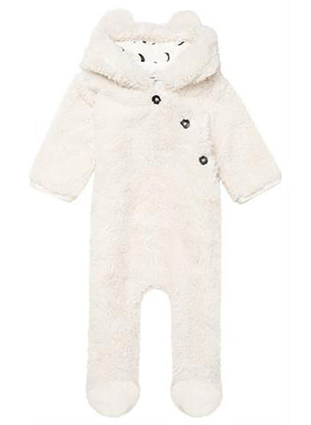 Snowsuit - Cream - snowsuit - Noppies - Little Mouse Baby Clothing & Gifts