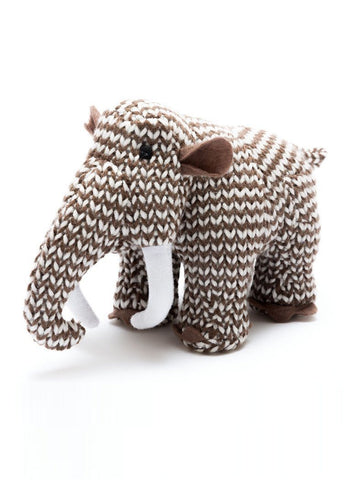 Woolly Mammoth Baby Rattle - rattle - Best Years - Little Mouse Baby Clothing & Gifts
