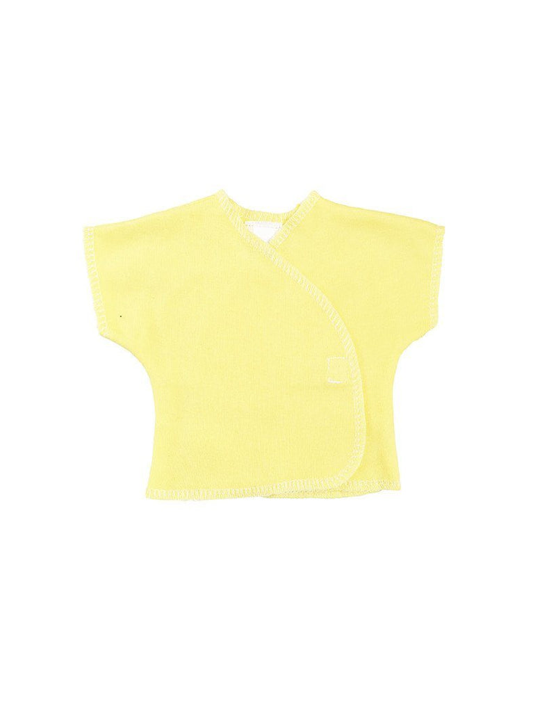 Sunshine Yellow Short Sleeve Shirt - Premature -  - Little Mouse Clothing and Gifts - Little Mouse Baby Clothing & Gifts